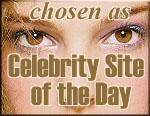 Celebrity site of the day September 9 2000